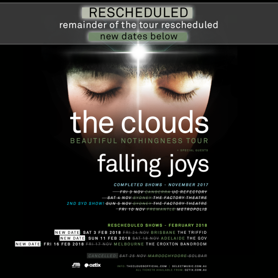 The Clouds - Re-scheduled Dates