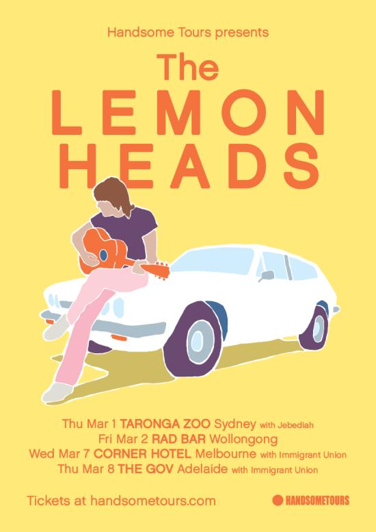 The Lemonheads Tour Poster