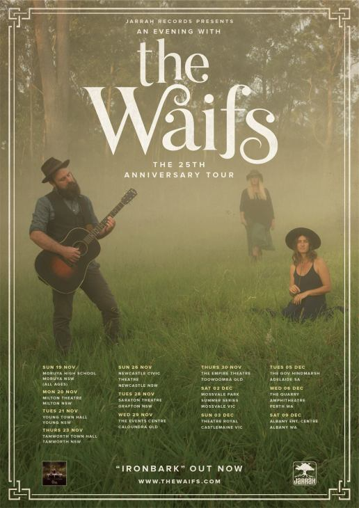 The Waifs Regional Tour Poster