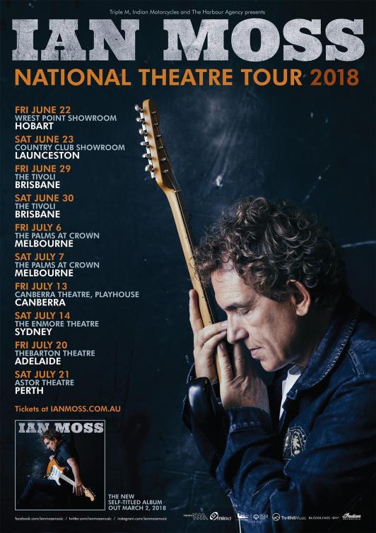 Ian Moss Tour Poster