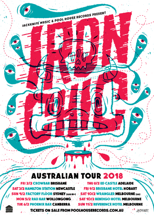 Iron Chic Tour Poster