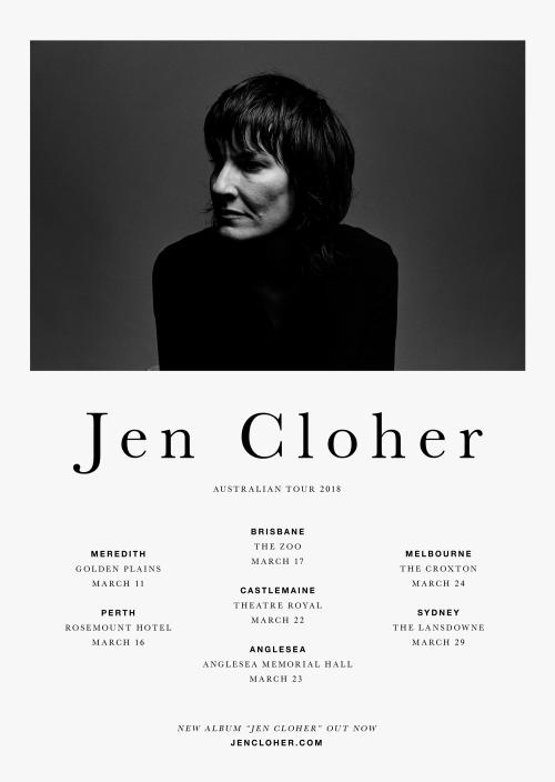 Jen Cloher Tour Poster