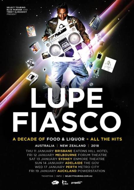 Lupe Fiasco Tour Poster 2