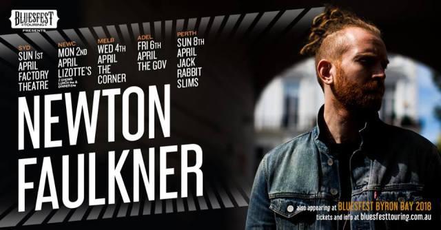 Newton Faulkner Tour Banner
