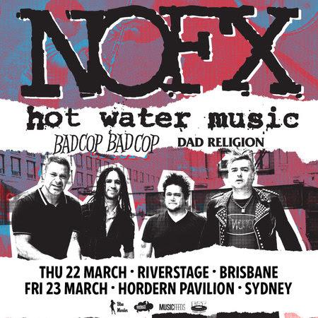 NOFX Tour Poster