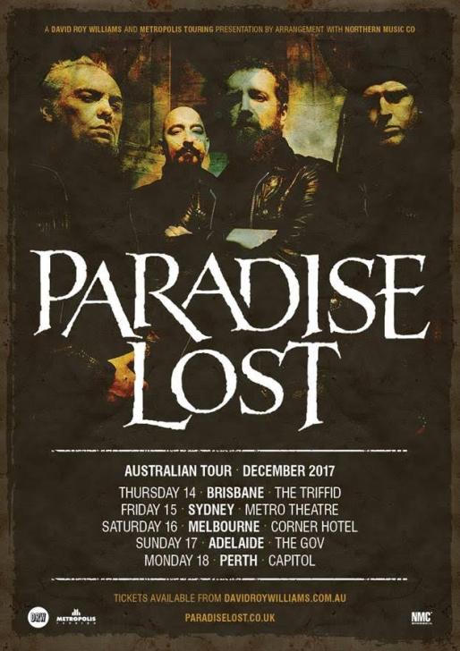 Paradise Lost Tour Poster