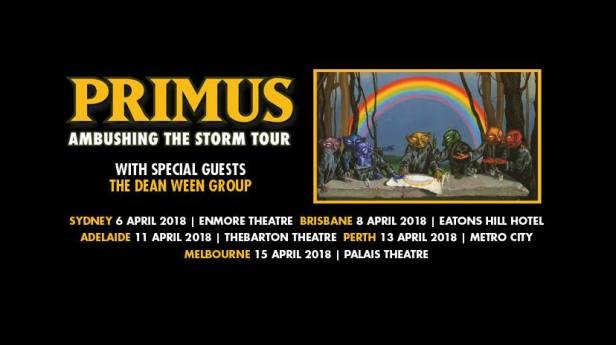 Primus Tour Banner
