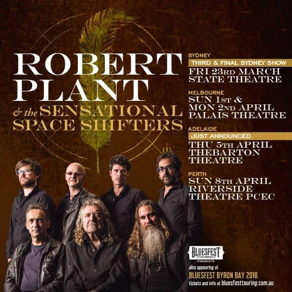 Robert Plant Tour Poster