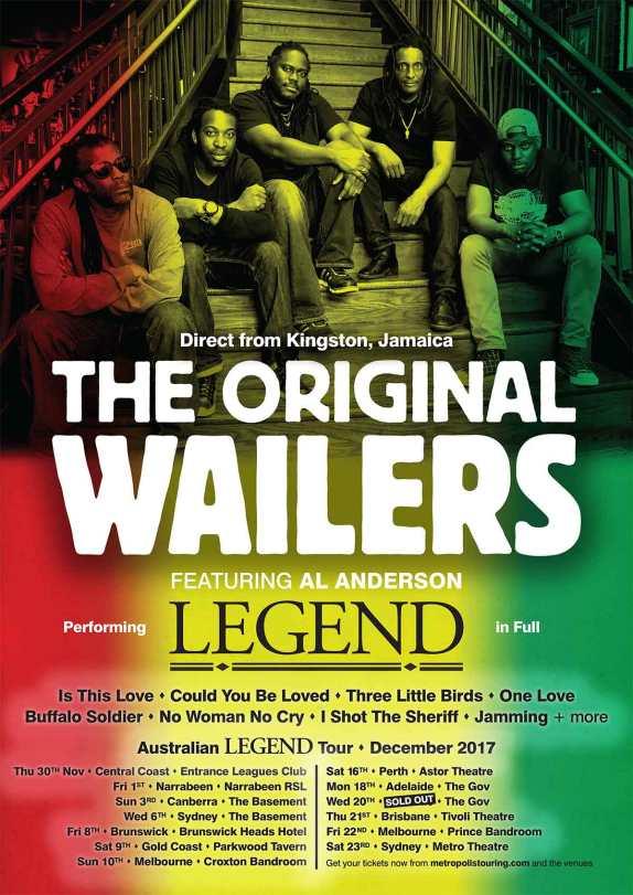 The Original Wailers NEW SHOWS