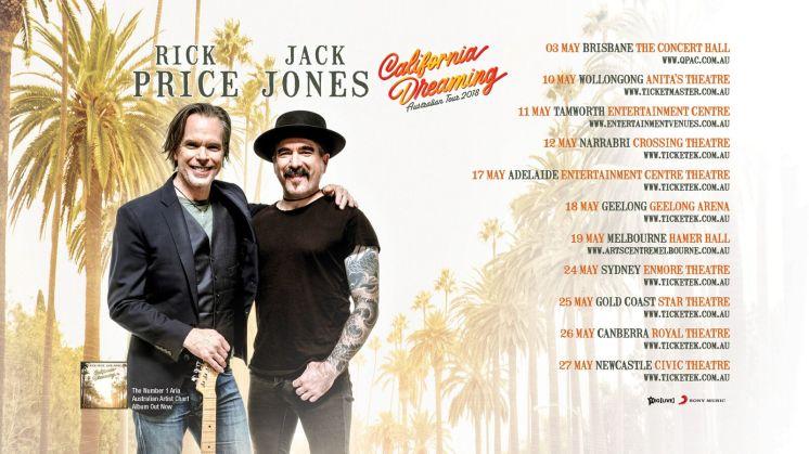 California Dreaming Tour Dates