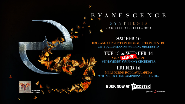 Evanescence Touor Banner