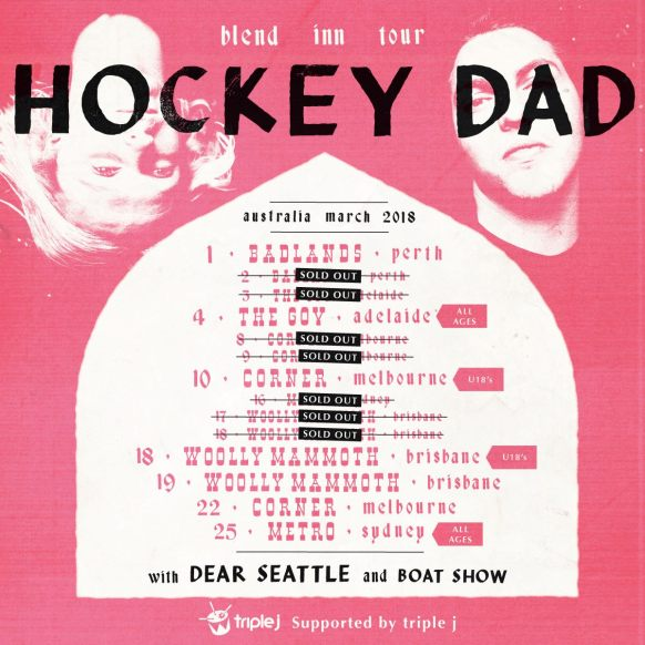 Hockey Dad Tour Poster