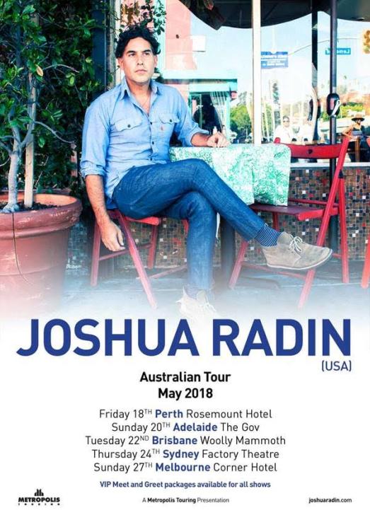 Joshua Radin Tour Poster