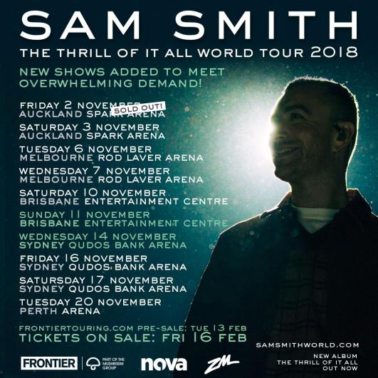 Sam Smith Tour Banner Updated