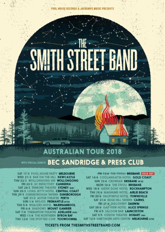 Smith Street Band Australian Tour