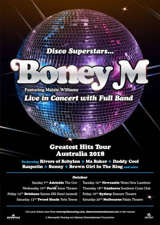 Boney M Tour Poster