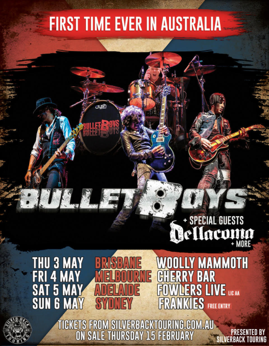 Bulletboys Tour Poster