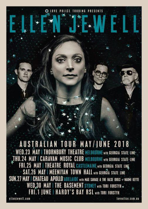 Eilen Jewell Tour Poster