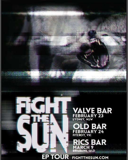 Fight The Sun Gig Poster