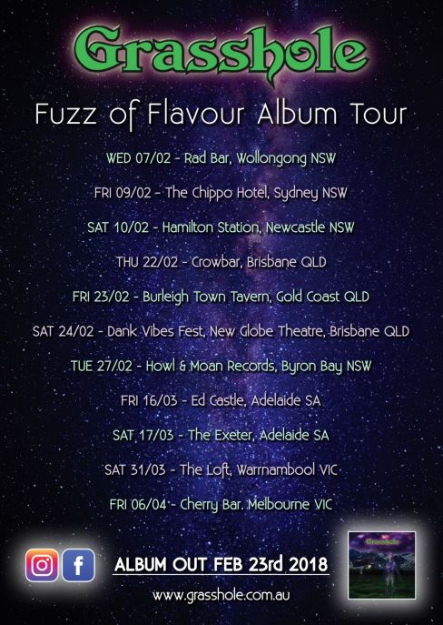 Grasshole Tour Poster