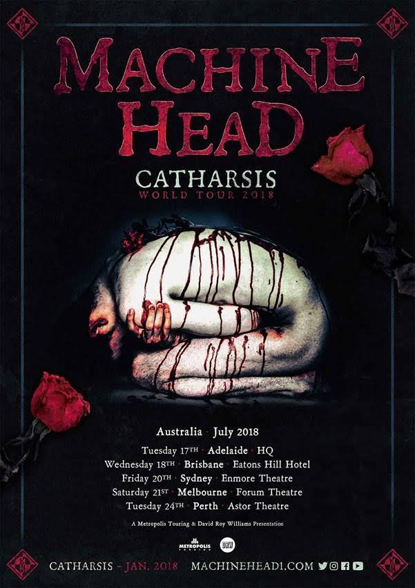 Machine Head Tour Poster