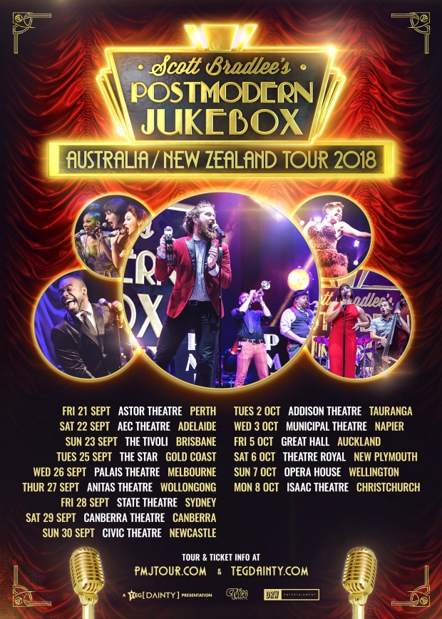 Postmodern Jukebox Tour Poster