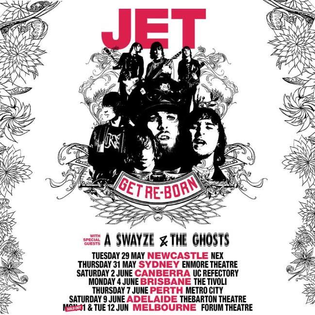 Jet - Australian Tour Poster Updated