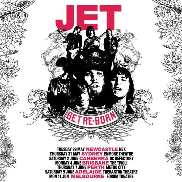 Jet - Australian Tour Poster