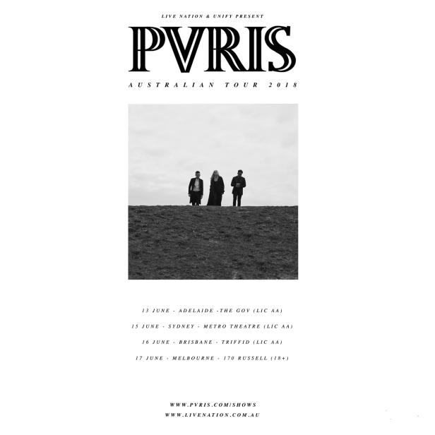PVRIS Tour Poster
