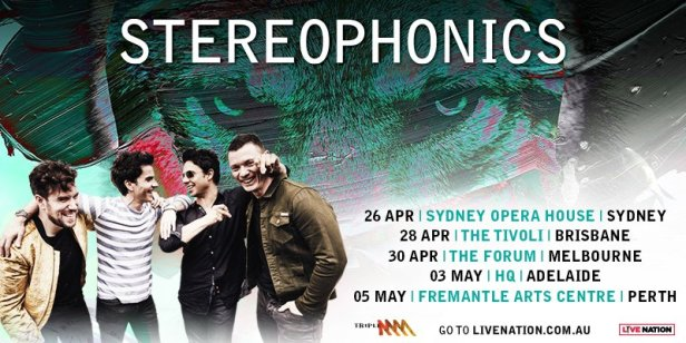 Stereophonics Tour Banner
