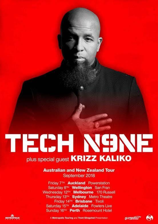 Tech N9ne Tour Poster