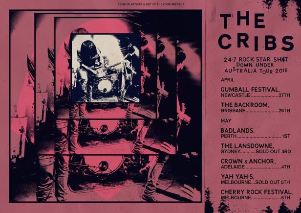 The Cribs Australian Tour