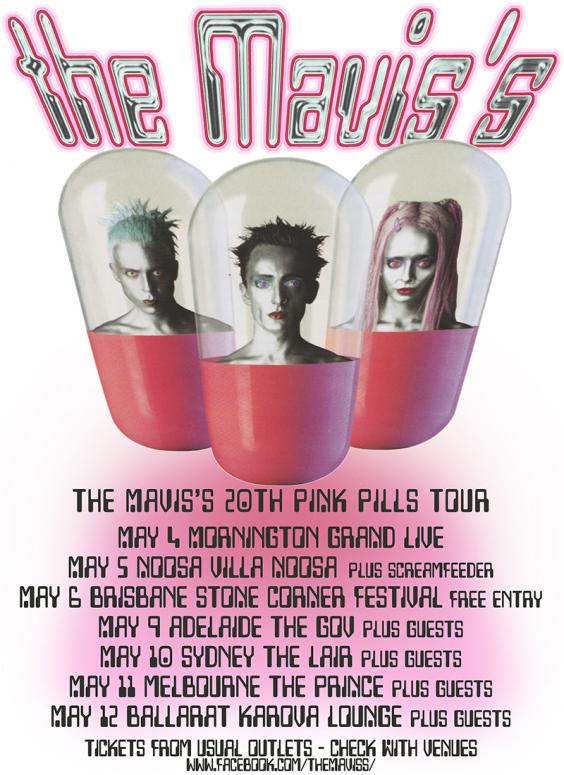 The Mavis's Tour Poster