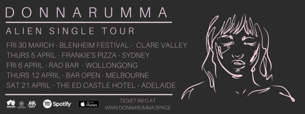 Donnarumma Alien Tour Banner