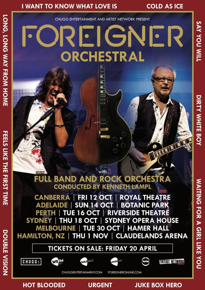 Foreigner Tour Poster