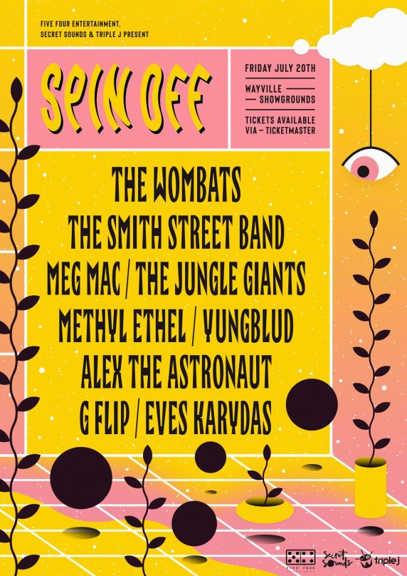 Spin Off Festival 2018 Poster