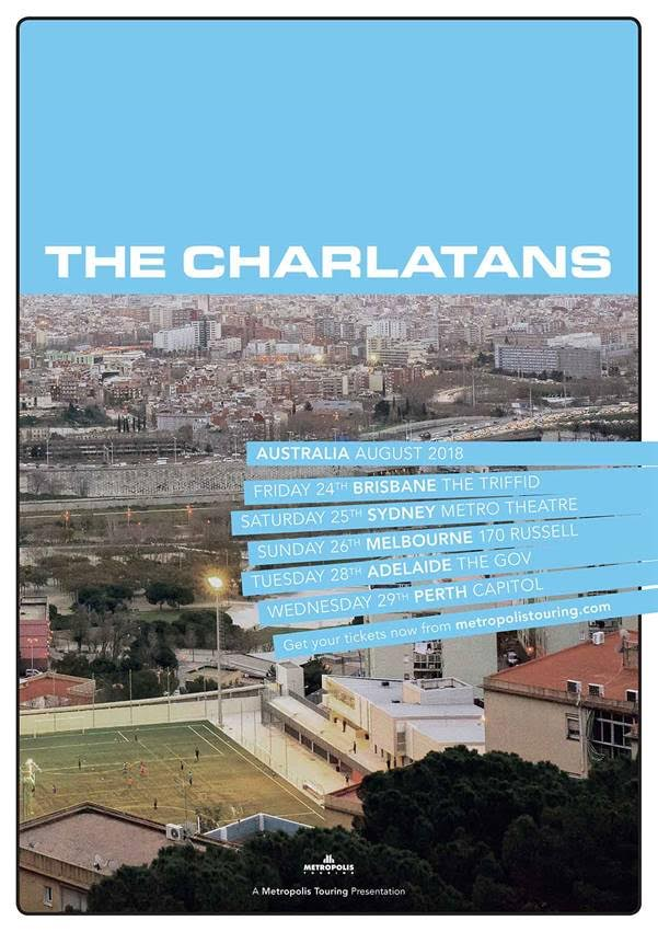 The Charlatans Tour Poster