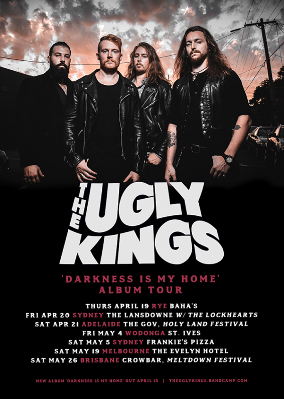 The Ugly Kings Tour Poster
