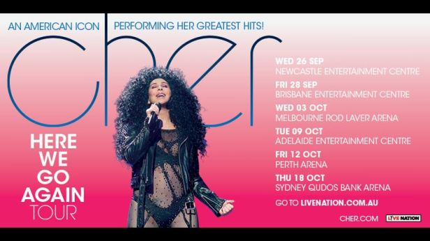 Cher Tour Banner