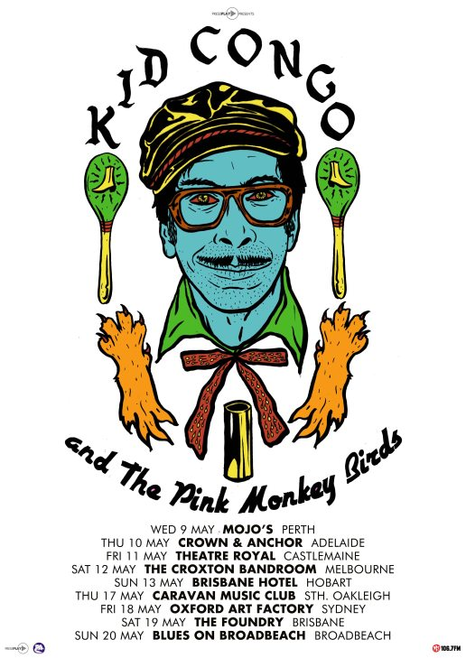 King Congo Tour Poster
