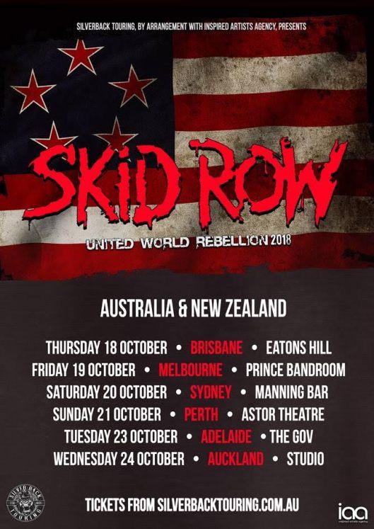 Skid Row Tour Poster