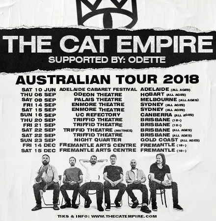 The Cat Empire Tour Poster