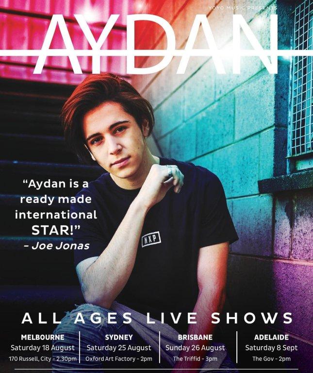 Aydan Tour Poster