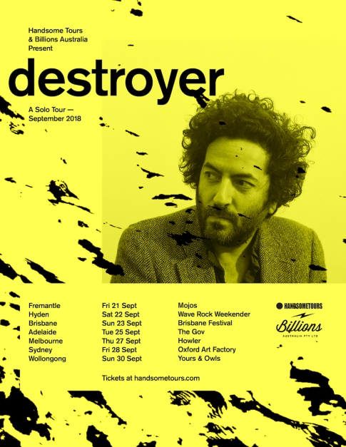 Destroyer Tour Poster