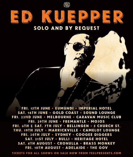 Ed Keupper Tour Poster