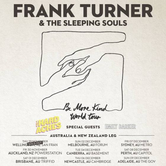 Frank Turner Tour Poster Updated 1