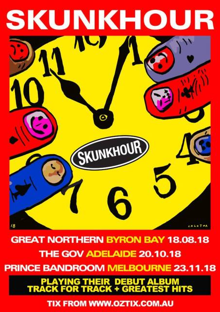 Skunkhour Tour Poster