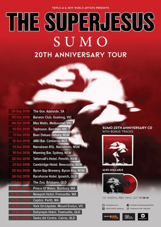 Superjesus Tour Poster