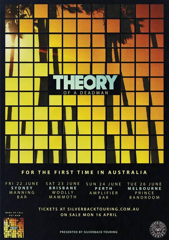 Theory Of A Deadman Tour Poster