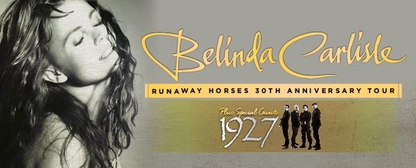 Belinda Carlise Tour Banner